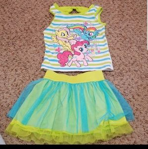 Other - My little pony outfit  24 months READ DESCRIPTION